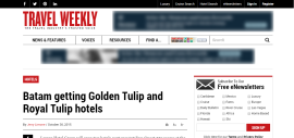 Batam getting Golden Tulip and Royal Tulip hotels
